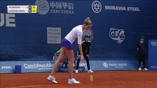 Kristyna Pliskova vs Beatriz Haddad Maia