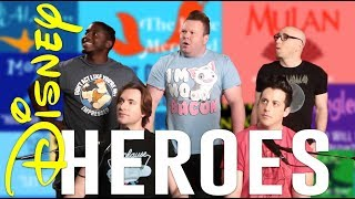 ACA TOP 10 - DISNEY HEROES Feat. J. None