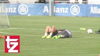 FC Bayern Länderspielpause: Ribéry und Rafinha kuscheln
