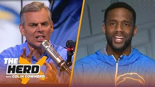 Casey Hayward talks Chargers vs. Pats and compares Philip Rivers to Aaron Rodgers | NFL | THE HERD