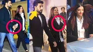 Abhishek Bachchan got angry at Aishwarya Rai Bachchan refuses to hold his hand in public |Shocking