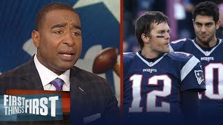 Cris Carter reacts to Jimmy G
