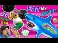 EAT MY BUTT SHARK! AMAZING FROG FART GYM...mp3