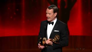 """Bryan Cranston wins an Emmy for """"Breaking Bad"""" 2014"""