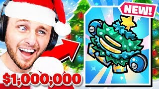 NEW CHRISTMAS UPDATE in my $1,000,000 GAME!