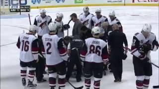 Burmistrov stretchered off ice after devastating Miller hit