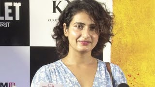 Fatima Sana Shaikh SPOTTED At Toilet: Ek Prem Katha Special Screening