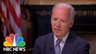 Joe Biden On Barack Obama: 'I don't Like Him. I Love Him.' | NBC News