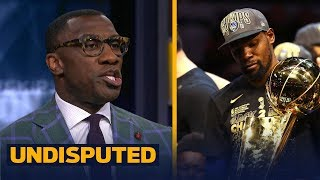 Shannon Sharpe reacts to KD