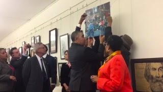 Clay Returns Controversial Ferguson Painting to Capitol