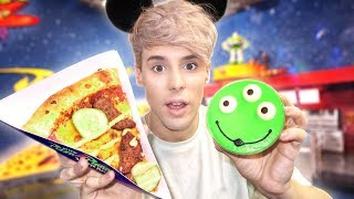 i only ate DISNEYLAND foods for 24 hours