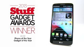 LG G2 Best Smartphone Stuff Award Winner 2013