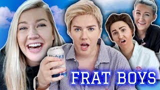 Undercover FRAT BOYS For A Day!