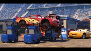 Cars 1,2 & 3  -  Lightning Mcqueen and  ALL LEGEND  SKILL  !  ( Video Music )