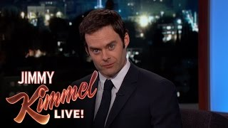 Jimmy Kimmel and Bill Hader