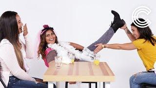 Truth or Drink Bridesmaids -  Pooja, Jemmy & Devon