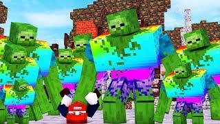 FLUCHT VOR NUKLEAREN ZOMBIES - Minecraft Zombie Escape #1