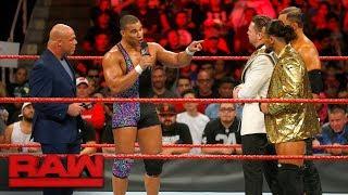 Jason Jordan defends his father against The Miz: Raw, Sept. 18, 2017