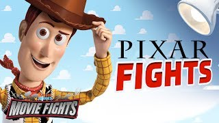 Who is The Best Pixar Character? - MOVIE FIGHTS!!