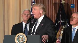 President Trump Signs Energy Independence Executive Order That