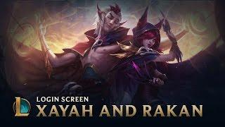 Xayah and Rakan | Login Screen - League of Legends