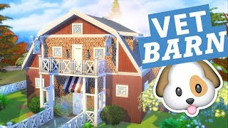 VET BARN! The Sims 4 House Cats and Dogs Building