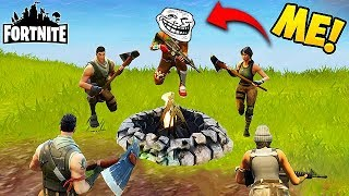 JOINING AN ENEMY SQUAD! - Fortnite Funny Fails and WTF Moments! #82 (Daily Moments)