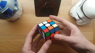Imperial March played on a Rubik