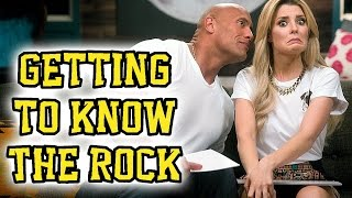 GETTING TO KNOW THE ROCK // Grace Helbig