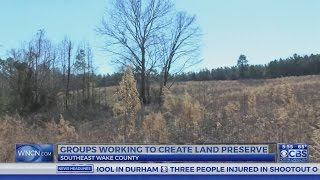 Conservationists hope to save green amid Triangle's growth