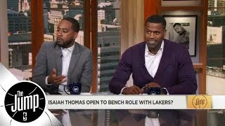 Isaiah Thomas open to coming off the bench for Lakers? | The Jump | ESPN