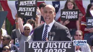 Cory Booker Presidential Campaign Announcement  (C-SPAN)