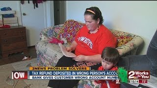 Tax Refund Posted To Wrong Account