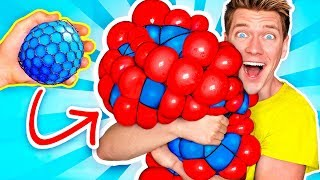 10 Weird Stress Relievers For Back To School! Learn How To Diy Squishy Slime School Supplies Prank