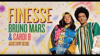Bruno Mars - Finesse (James Hype Remix) [feat. Cardi B]