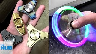 10 Amazing Fidget Spinners You Need To See