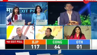 Maha exit polls: Watch debate with Shazia Ilmi and Congress spokesperson Nadeem Javed