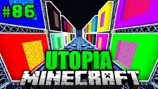RAUM der 10.000 PORTALE?! - Minecraft Utopia #086 [Deutsch/HD]