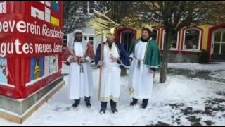 """Die """"heiligen"""" drei Bürgermeister sammelten Spenden"""