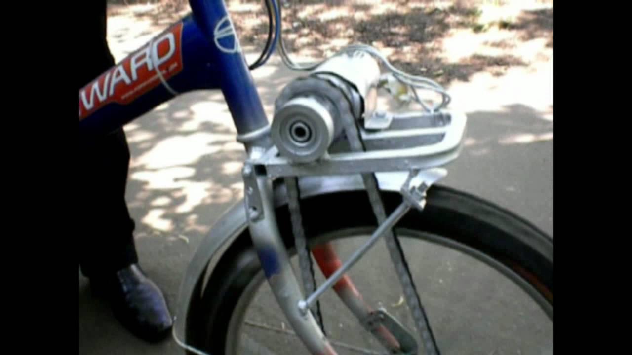 Как сделать своими руками электродвигатель для велосипеда