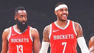 James Harden Leaves Rockets After Carmelo Anthony Joins (Parody)