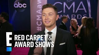 Scotty McCreery Introduces His Fiancee at 2017 CMA Awards | E! Live from the Red Carpet
