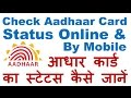 How to Check Aadhar Card Status Online a...mp3