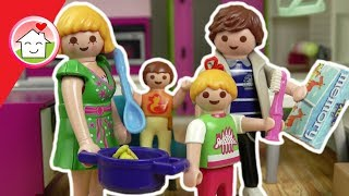 Playmobil Film deutsch - Abendroutine von Familie Hauser -  Kinderfilm von Family Stories
