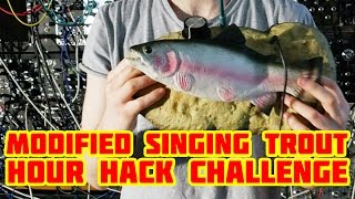 MODIFIED SINGING BASS / TROUT HACK WALKTHROUGH #circuitbent #howto