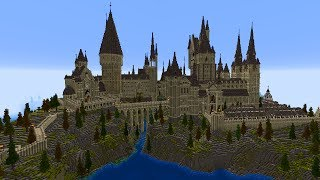 Hogwarts aus Harry Potter in Minecraft! MASSIG DETAILS!