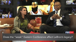 Joy Taylor and Caron Butler talk 2017 NBA Playoffs (Streamed Live on 5/8/17) | THE HANG