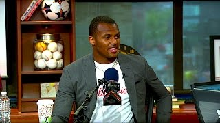 Former Clemson QB Deshaun Watson talks upcoming NFL Draft, willingness to wait and learn and more