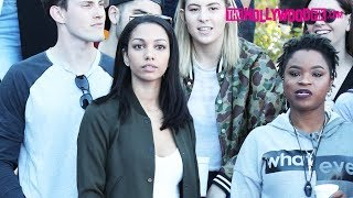 Corinne Foxx Attends The Chacha The Wave Vs. Jamie Foxx Celebrity Basketball Game 2.17.18