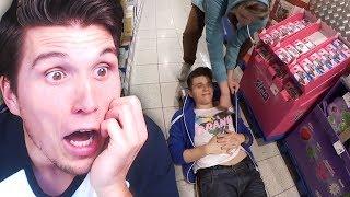 An diesem Tag legte ich mich auf den Boden eines Supermarkts